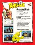 Rampage Apple II Back Cover