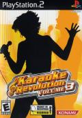 Karaoke Revolution Volume 3 PlayStation 2 Front Cover
