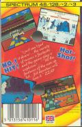 Yie Ar Kung-Fu ZX Spectrum Back Cover
