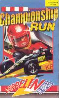 Championship Run ZX Spectrum Front Cover