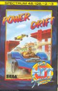 Power Drift ZX Spectrum Front Cover