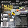 007: Everything or Nothing Game Boy Advance Back Cover