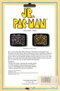 Jr. Pac-Man DOS Back Cover