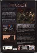 Lineage II: The Chaotic Chronicle Windows Back Cover
