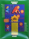 Donkey Kong Commodore 64 Back Cover