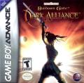 Baldur's Gate: Dark Alliance Game Boy Advance Front Cover