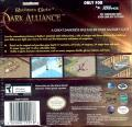 Baldur's Gate: Dark Alliance Game Boy Advance Back Cover