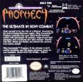 Wing Commander: Prophecy Game Boy Advance Back Cover