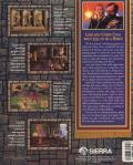 Quest for Glory I: So You Want To Be A Hero DOS Back Cover