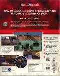 Daryl F. Gates' Police Quest: SWAT DOS Back Cover