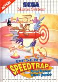 Desert Speedtrap starring Road Runner and Wile E. Coyote SEGA Master System Front Cover