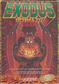 Exodus: Ultima III Apple II Front Cover