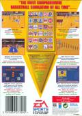 NBA Showdown Genesis Back Cover