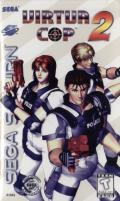 Virtua Cop 2 SEGA Saturn Front Cover