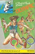 Micro Olympics ZX Spectrum Front Cover