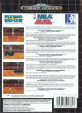 NBA All-Star Challenge Genesis Back Cover