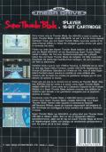Super Thunder Blade Genesis Back Cover
