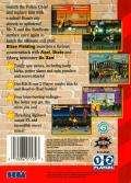 Streets of Rage 3 Genesis Back Cover