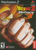 Dragon Ball Z: Budokai 3 PlayStation 2 Front Cover