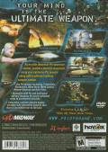 Psi-Ops: The Mindgate Conspiracy PlayStation 2 Back Cover
