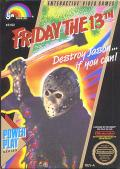 Friday the 13th NES Front Cover