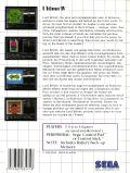 Ultima IV: Quest of the Avatar SEGA Master System Back Cover