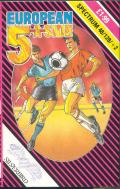 European 5-A-Side ZX Spectrum Front Cover