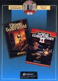 Wing Commander II & Ultima Underworld DOS Front Cover