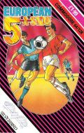 European 5-A-Side Commodore 64 Front Cover