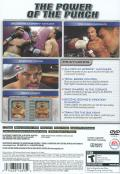Fight Night Round 2 PlayStation 2 Back Cover
