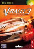 V-Rally 3 Xbox Front Cover