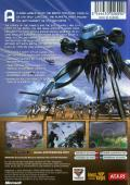 Battle Engine Aquila Xbox Back Cover