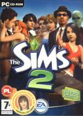The Sims 2 Windows Front Cover