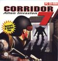 Corridor 7: Alien Invasion DOS Other Jewel Case - Front