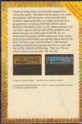 The Secret Diary of Adrian Mole Aged 13¾ Commodore 64 Back Cover