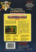 Ghosts 'N Goblins NES Back Cover