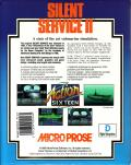 Silent Service II DOS Back Cover