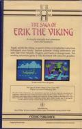 The Saga of Erik the Viking ZX Spectrum Back Cover