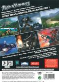 TransFormers PlayStation 2 Back Cover