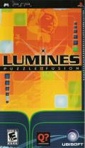 Lumines: Puzzle Fusion PSP Front Cover