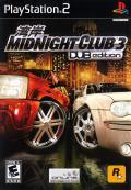Midnight Club 3: DUB Edition PlayStation 2 Front Cover
