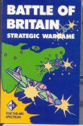 Battle of Britain ZX Spectrum Front Cover