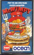 Mr. Wimpy: The Hamburger Game ZX Spectrum Front Cover