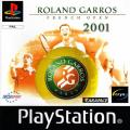 Roland Garros French Open 2001 PlayStation Front Cover