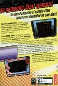 Atari: 80 Classic Games in One! Windows Back Cover