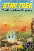 Star Trek: The Promethean Prophecy Commodore 64 Front Cover