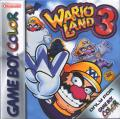 Wario Land 3 Game Boy Color Front Cover