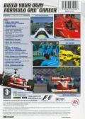 F1 Career Challenge Xbox Back Cover