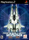 Gradius III and IV PlayStation 2 Front Cover