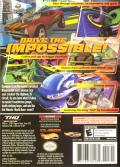 Hot Wheels: World Race GameCube Back Cover